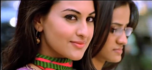 Sonakshi Sinha, featuring in a Bollywood song.