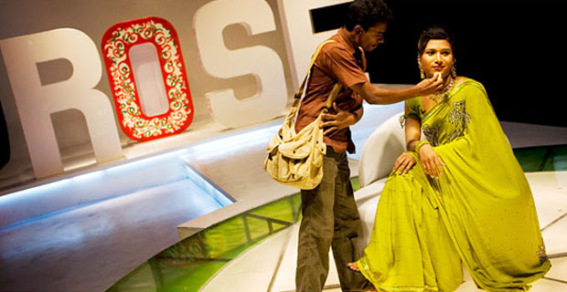 Show host in Ippudikku Rose (Yours, Rose) in a Star Vijay TV production series.  SOURCE: NYTimes
