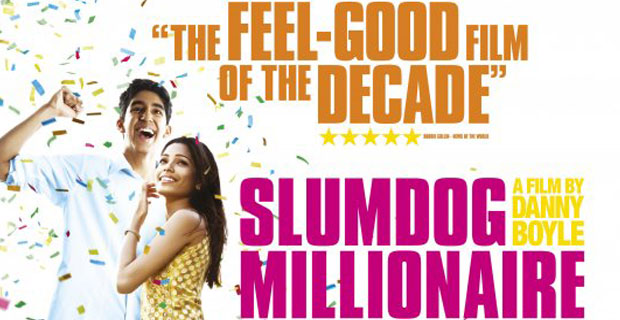Slumdog Millionaire (2008) movie poster. SOURCE: impawards.com